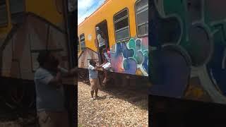 Trem descarrilhou em Paripe