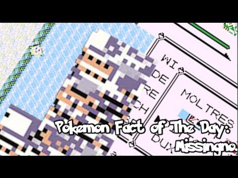 Missingno - Pokemon Fact of The Day