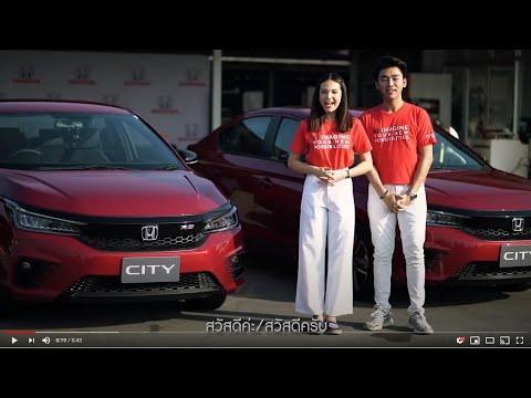 Test drive New Honda City Turbo in Thailand