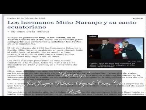 Los hermanos Miño Naranjo -