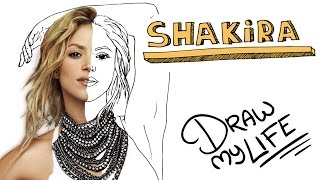 Video SHAKIRA | Draw My Life MP3, 3GP, MP4, WEBM, AVI, FLV November 2017