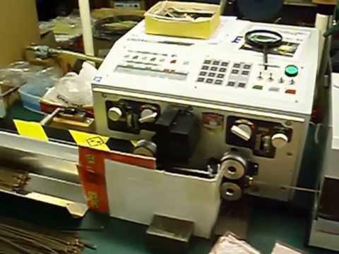 自動切断機(平行2芯加工)
