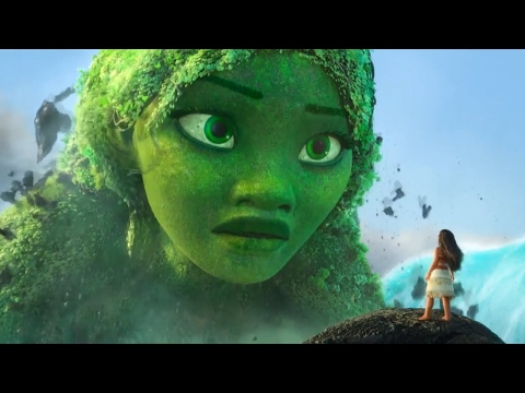 Moana - Moana & Maui FIGHT With Teka - Te Fiti Returns (FHD)