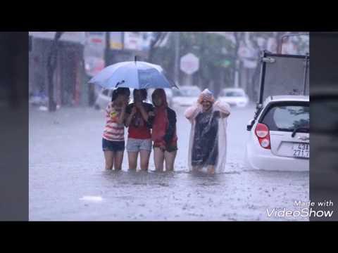 Đà Nẵng xuất hiện ngọn thác trong phim Tây Du Ký nhờ trận mưa to. - Thời lượng: 2 phút, 30 giây.