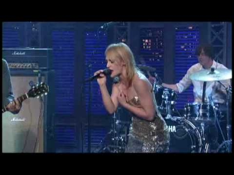 "Metric - ""Help I'm Alive"" On Letterman 7/17 (TheAudioPerv.com)"