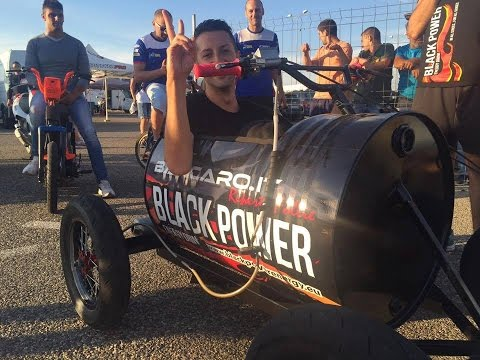 Carretta Black Power motorizzata BARCARO.IT