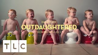 Welcome to the new series of OutDaughtered. Subscribe for more great clips: https://www.youtube.com/channel/UC2vlpX8sNDBmPcY_1_QSGJg?sub_confirmation=1Like TLC UK on Facebook: https://www.facebook.com/uktlc/Follow TLC UK on Twitter: https://twitter.com/tlc_uk?lang=enVisit our website: http://www.uk.tlc.com/