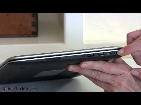 12 - Lisa Gade reviews Dell XPS 12 Windows 8 Ultrabook covertible tablet. The XPS 12 has a 12.5