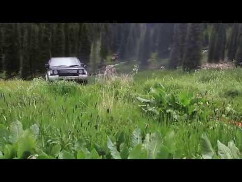 Mitsubishi Pajero and stones Nissan Patrol. Mountans. Казахстан, горы, джипы. Клуб Проходимец (видео)