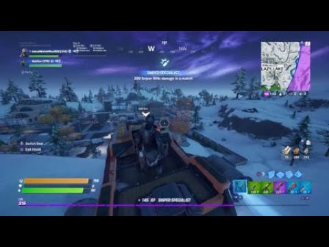 Fortnite 281m Sniper Knockdown Shot