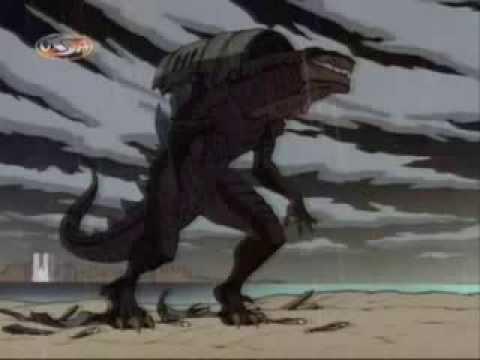 Godzilla The Series - S1E1 - New Family Part 1 Part 2.wmv