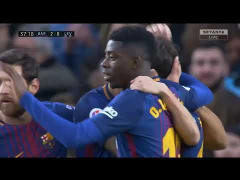 Barcelona vs Levante 3-0   Vòng 18 La Liga 2017/2018   Highlight & Bàn Thắng 07/01/2018 HD
