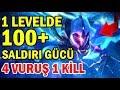Download Video 1 LEVELDE 100+ AD HİLESİ MASTER Yİ !! 4 VURUŞ 1 KİLL | SOLO MİD FARKETMEZ MASTER YOK EDER AFFETMEZ