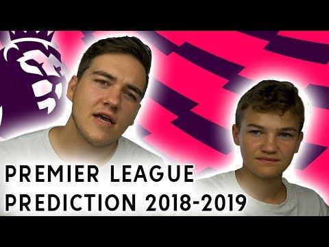 OUR BIG PREMIER LEAGUE 2018/19 PREDICTION!!!