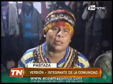 3 personas permanecen retenidas por una comunidad shuar de Kumay