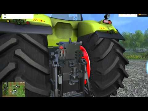 CLAAS Axion 850 v1.2 by Czech Mod Team