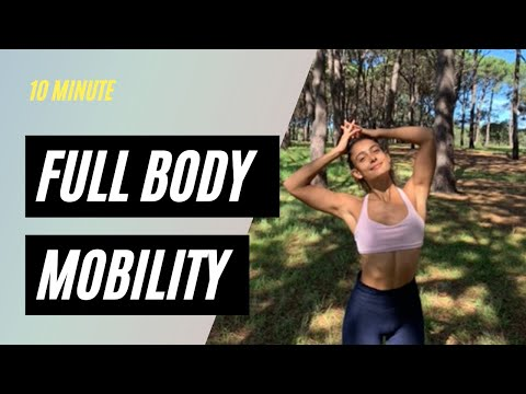 10 MINUTE DAILY MOBILITY ROUTINE | No Yoga | Real Time Sequence