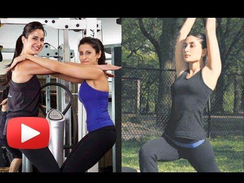 Video Kareena Kapoor, Katrina Kaif Working Out At the Gym download in MP3, 3GP, MP4, WEBM, AVI, FLV January 2017