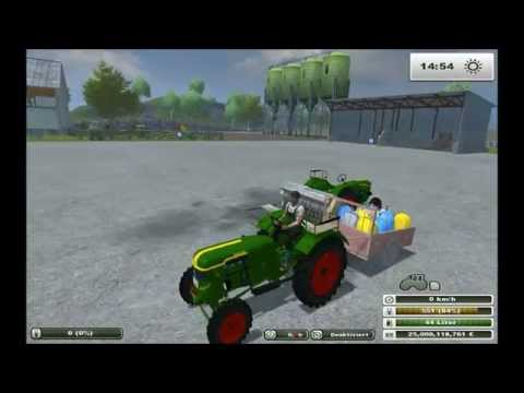 Small seeds and fertilizer trailer v3.0
