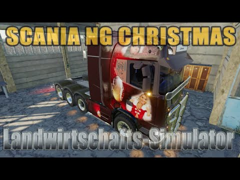 SCANIA NG CHRISTMAS LANTMANENFS v1.3.0.0