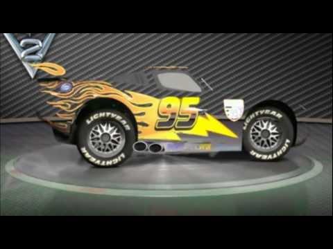 My Custom Lightning McQueen  (fan-video) #1