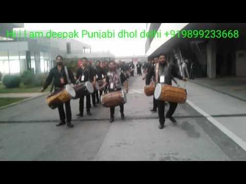 12 3 deepak Punjabi dhol delhi  +919899233668