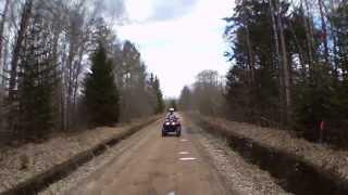 8. Kawasaki prairie 360