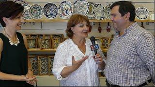 The George and Dorin Sandrouni Ceramic Center in Jerusalem