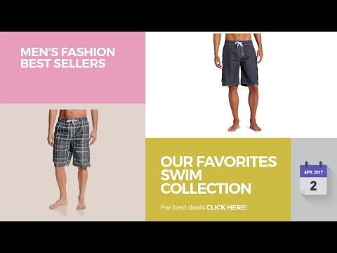 Our Favorites Swim Collection Men's Fashion Best Sellers