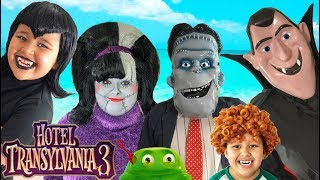Hotel Transylvania 3 Halloween Costumes Toys and Makeup