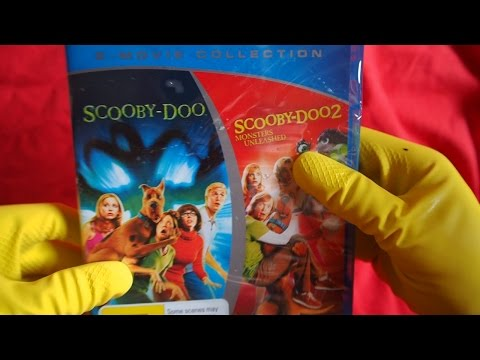 ASMR Scooby-Doo 1 & 2 Blu-ray Collection Unboxing