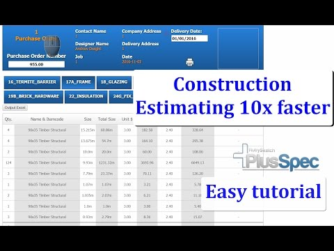 Construction estimating software that's changing the way we build.