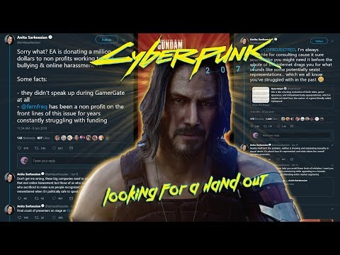 Anita Sarkeesian Using Cyberpunk 2077 outrage to peddle her CONSULTING SERVICE