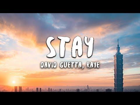 David Guetta - Stay (Lyrics) feat. Raye