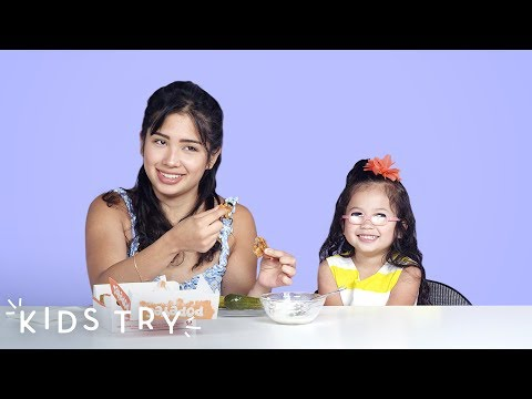 Kids Try Their Mom's Pregnancy Cravings: Part 2 | Kids Try | HiHo Kids