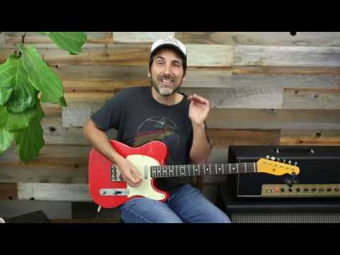 Lick Of The Day 55 – Angry Hard Rock Southern Blues Licks – Guitar Lesson – Soloing Tips