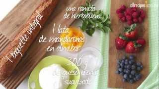 Bruschetta de fruta