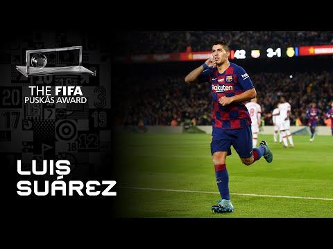 Luis Suarez Goal   FIFA Puskas Award 2020 Nominee
