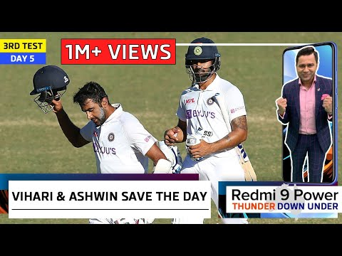 VIHARI & ASHWIN HEROICS Save the Match | Redmi 9 Power presents 'Thunder Down Under' | 3rd Test