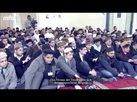 Weltweites Oberhaupt der Muslime in Deutschland im Dezember 2012