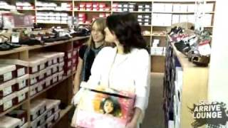 Selena Gomez goes on a shopping spree with contest winner