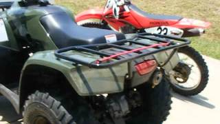 6. Which One Is Louder? 2012 Honda Recon 250 vs. 2006 Honda CRF100F