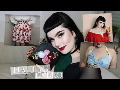 Uñas acrilicas - Bolsos bonitos y vestidos pin-up  HAUL DE ENERO (Romwe, SheIn, GearBest...) - Lolita Rydell