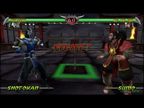 Mortal Kombat: Unchained - Gameplay PSP HD 720P (Playstation Portable)