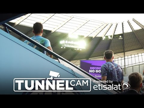 Video: TUNNEL CAM | Man City 2-2 Tottenham | Sterling, Aguero, Lamela, Moura