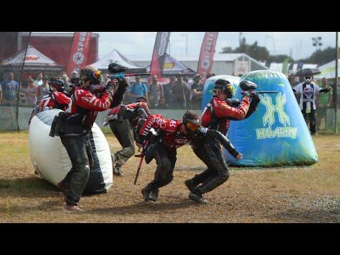 NXL World Cup 2018: Semi Pro Paintball: Semi Finals: Aftermath vs Mutiny