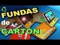 Como hacer una funda para Tablet, iPad, DE CARTON
