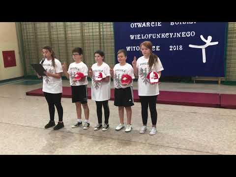 Wideo1: Otwarcie boiska w Witoszycach i występy uczniów