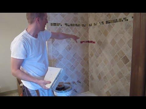 Grout Sealer & Shower Tile - Shower Shelf - (Part 5)