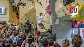 Huge Dyno At The Bouldercup Finals | Climbing Daily Ep.972 by EpicTV Climbing Daily